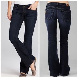 Paige Canyon Bootcut Stretch Jeans in Size 28